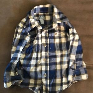 Baby gap buttons down boys shirt